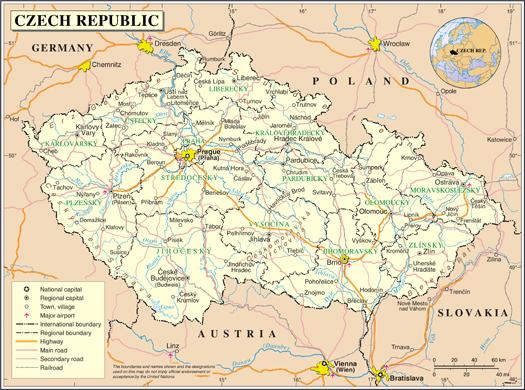 Informaciones sobre la Repblica Checa  Embajada de la Repblica