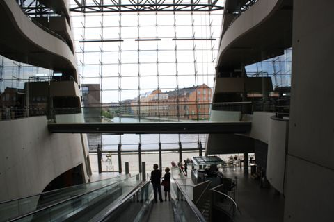 The interior of the Royal Library