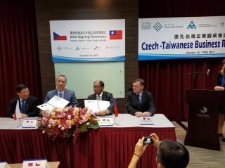 Podpis MoU mezi ATOK a TTF