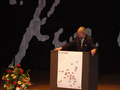 Director of the Royal Library, Mr. Erland Kolding Nielsen.