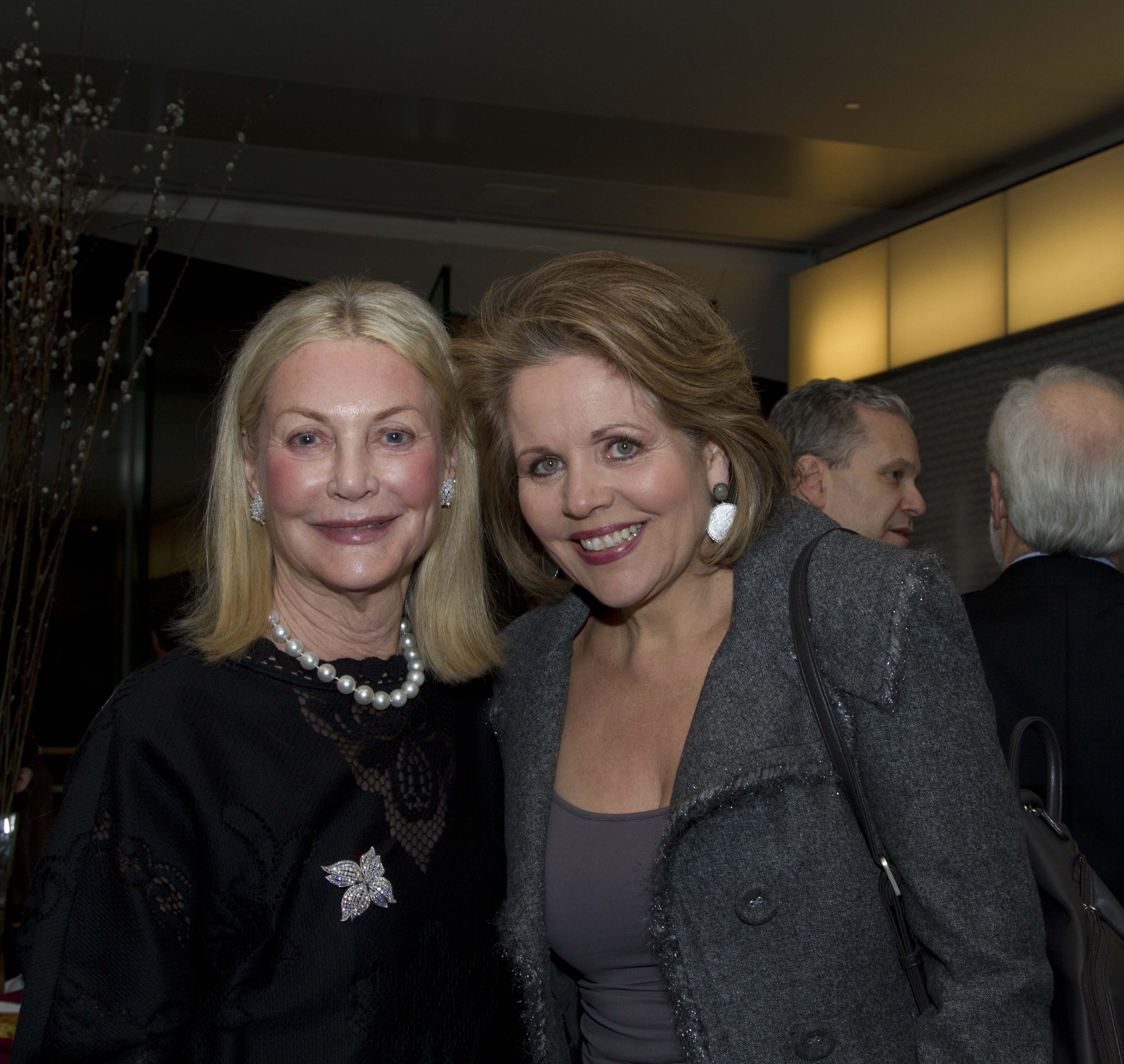 Yveta Synek Graff and Renée Fleming