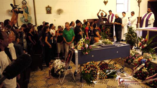 Burial of Oswaldo Payá
