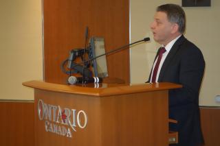 Ministr Zaorálek zahajuje podnikatelské fórum v Torontu