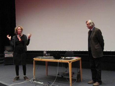 From the right: Czech animator Jiří Barta and Professor Alice de Champfleury