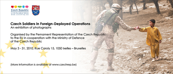 "Exhibition of photographs ""Czech Soldiers in Foreign-Deployed Operations"""