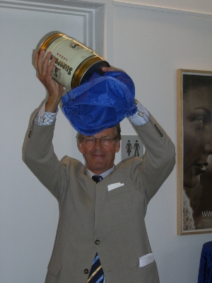 A cask of Czech beer