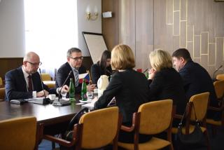 Ministr Zaorálek přijal běloruskou náměstkyni Alenu Kupchynu
