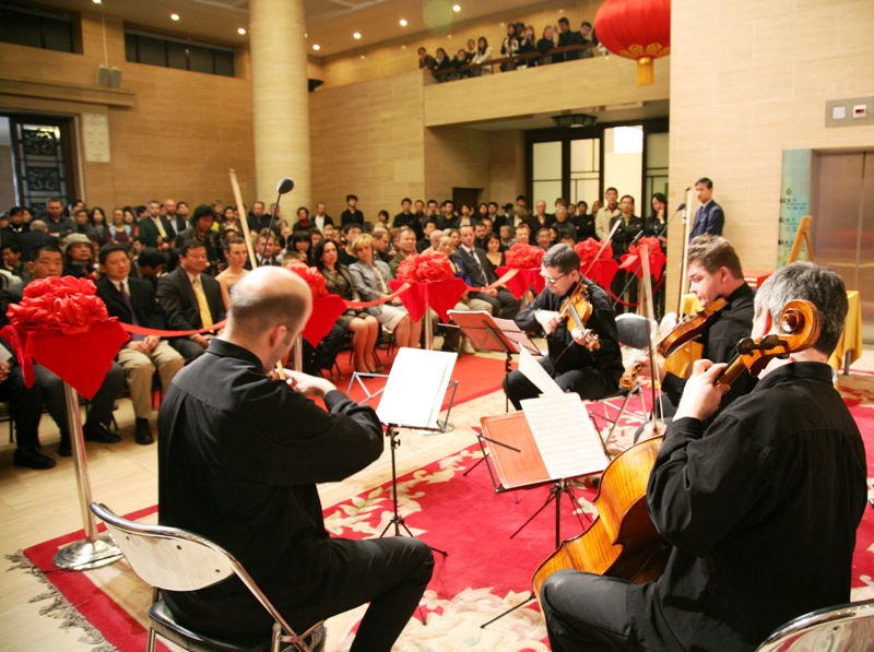 The opening ceremony was held on April 4th in the premises of the National Museum of Art in Beijing.