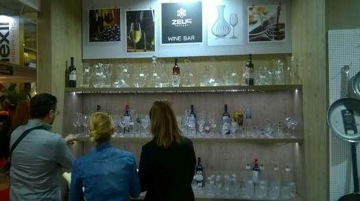 Stánek Zeus Factory a sklo Crystalex