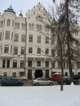From 1927 the Diplomatic Mission of Czechoslovakia was situated in this