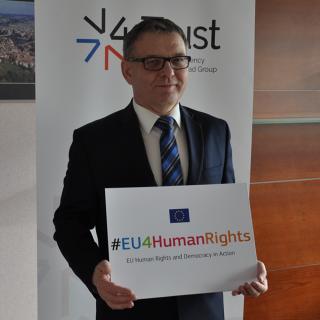 Ministr Zaorálek podpořil kampaň #EU4HumanRights.