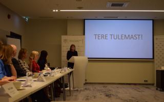 Velvyslankyně ČR v Estonsku G. Tománková - oficiální zahájení konference