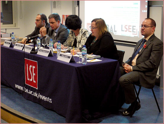 Serbian delegation in LSE