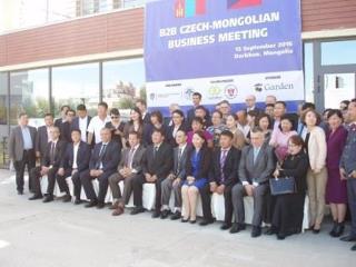 Podnikatelské fórum v Darchanu