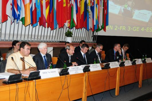 Deputy Minister Dub opened the OSCE Prague meeting ...
