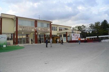 KOZANI-hlavní budova výstaviště