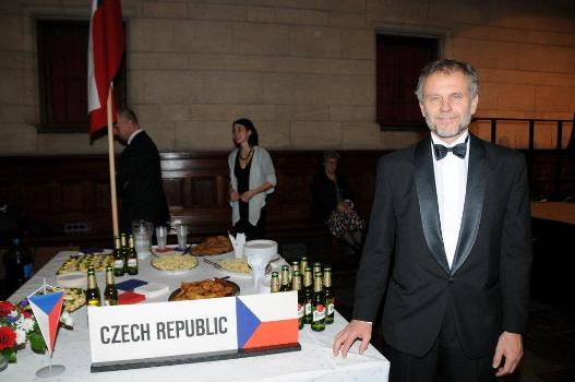 Czech Ambassador, Zdeněk Lyčka, at the Czech Republic´s stand. Photo: Hasse Ferrold