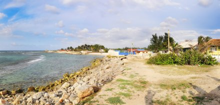 Kuba pláž Santa Fe