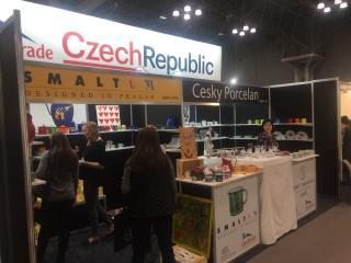 Český pavilon na NY NOW