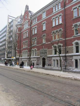 The first consulate of Czechoslovakia in Helsinki was situated in the