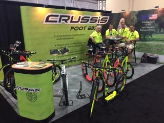 Expozice firmy Crussis na výstavě Interbike Las Vegas