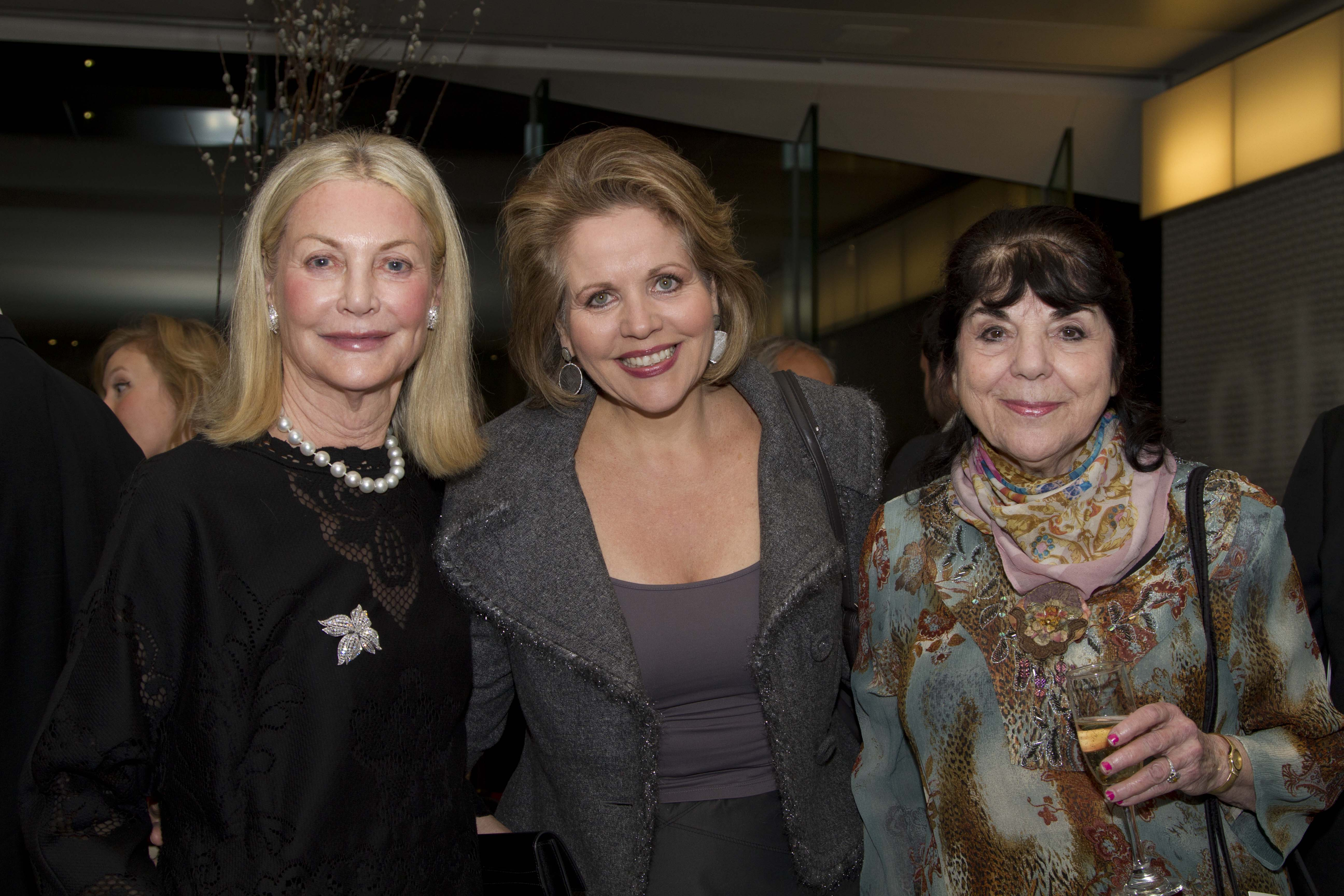 Yveta Synek Graff, Renée Fleming, and Eve Queler