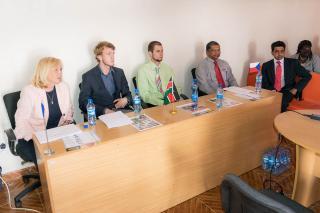 Representatives of Czech companies