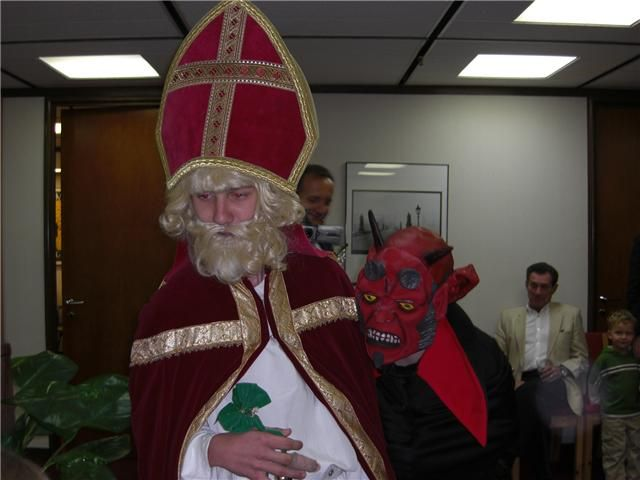 St. Nicholas and the Devil