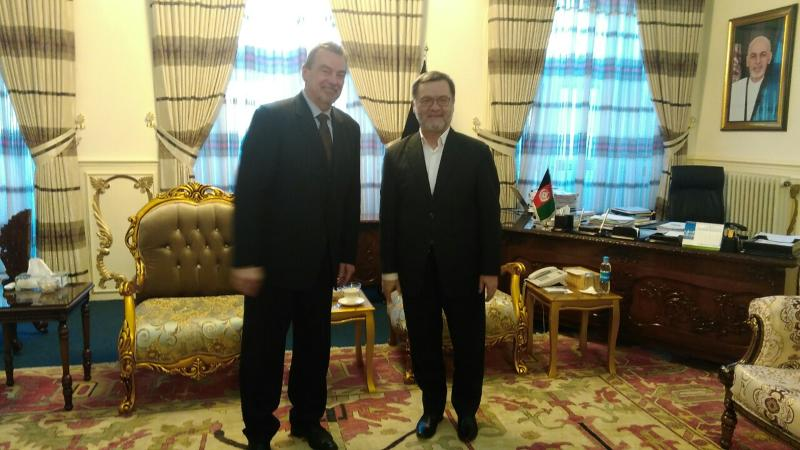 Ambassador Miroslav Tomam met with the second vice-president