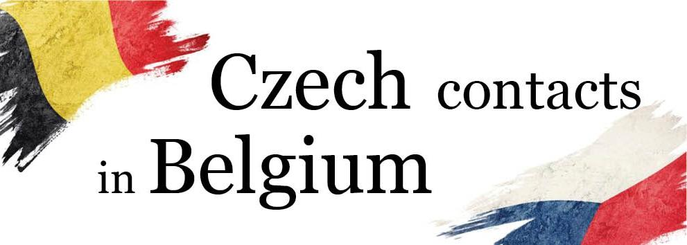Czech contacts in Belgium