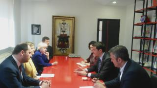 Meeting with the Minister Veliaj