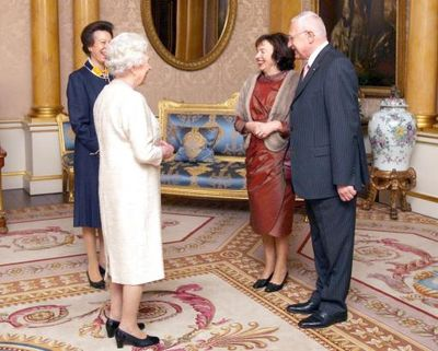 Vaclav Klaus and the Queen
