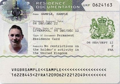 Home Office Residence Permit Family Member Of An Eea National