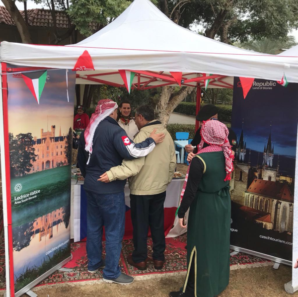 The Czech Embassy participated in the Kuwait Market