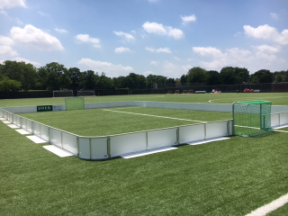 UHER COMPANY soccer rink