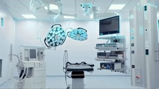 Ilustrace moderního vybavení Nemocnice Akfa Medline v Taškentu
