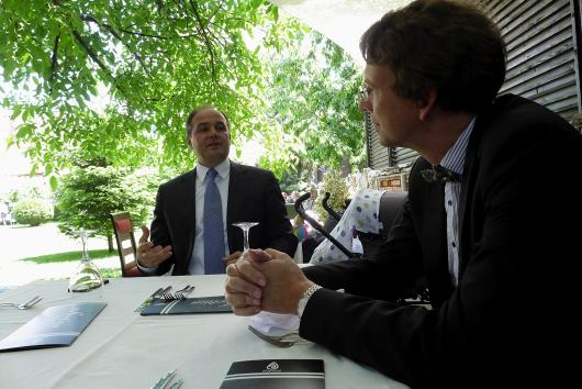 Deputy Minister of Foreign Affairs Petr Drulak visited