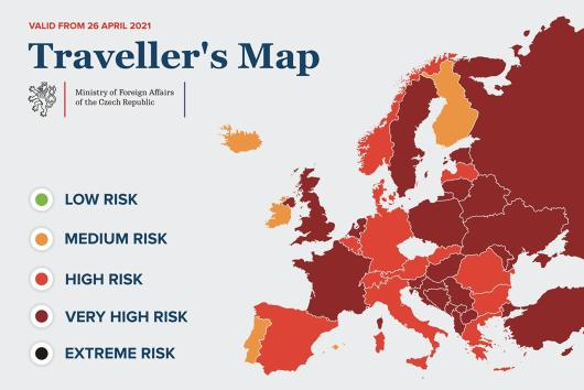 OVERVIEW: New travel rules valid from 26 April 2021
