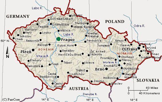 Fiume Elba Cartina Geografica.Informazioni Generali Ambasciata Della Repubblica Ceca Presso La Santa Sede