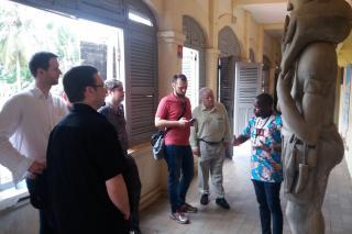 Návštěva Grand Bassam