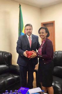 Meeting with the Deputy Minister of Health of Ethiopia