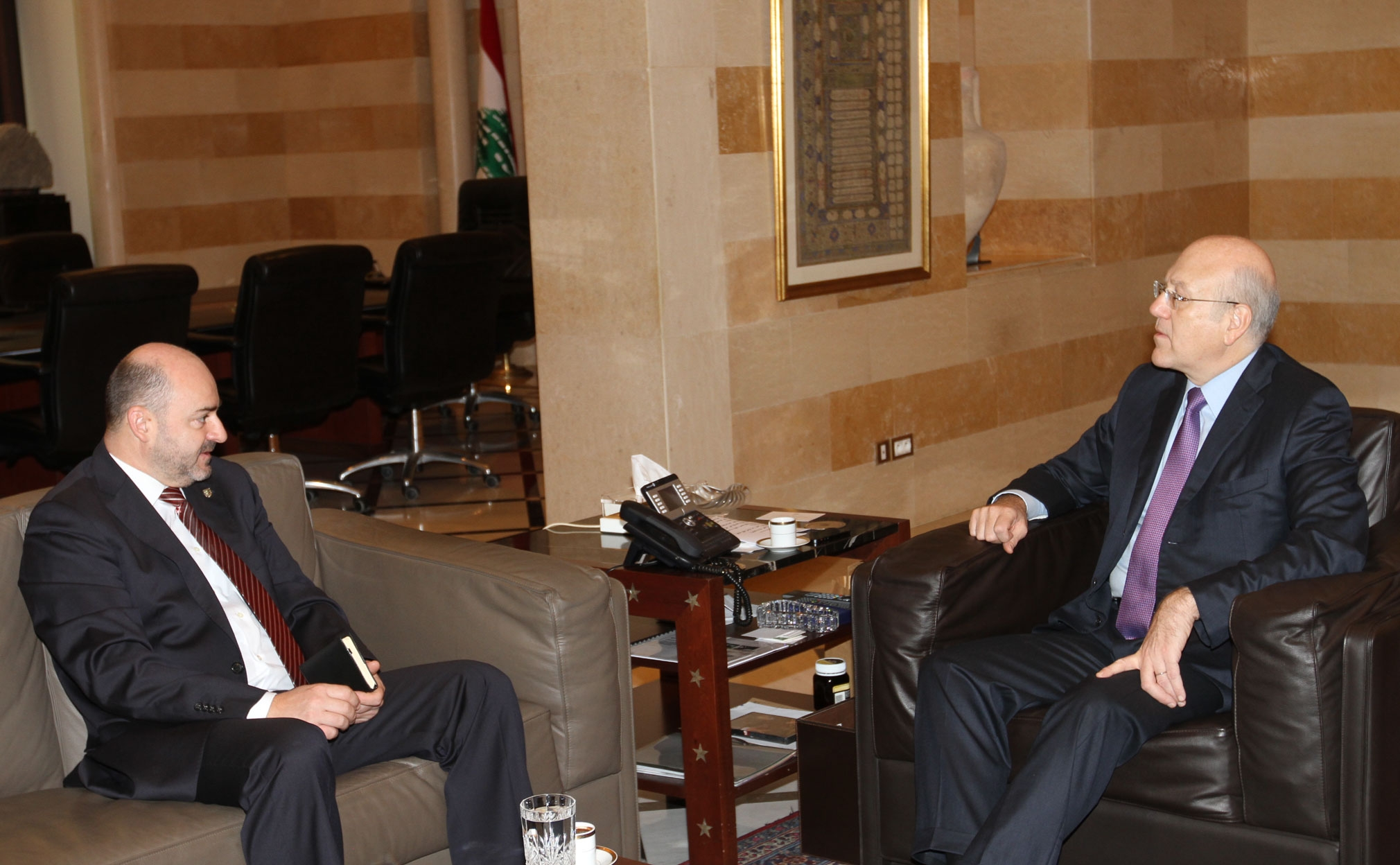 Relations with Lebanese Leaders - 2012 | Embassy of the