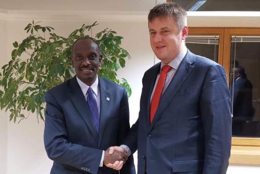 Ministr Petříček na zasedání ministrů zahraničních věcí EU a Africké unie
