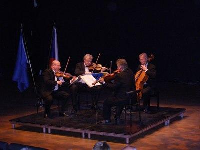 Stamic Kvartetten. Fra venstre: Jindřich Pazdera, Josef Kekula, Jan Pěruška, Petr Hejný.