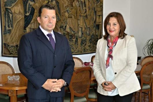 State Secretary M. Stašek received the Ambassador of Peru