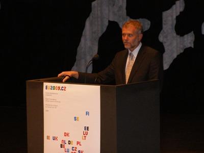 Den tjekkiske ambassadør Zdeněk Lyčka.