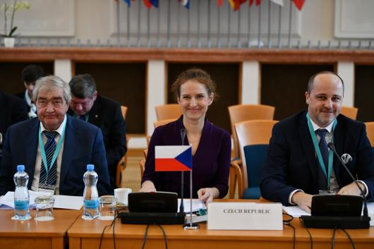 Deputy Minister Anita Grmelová launched the first edition of the Civil Aviation Forum