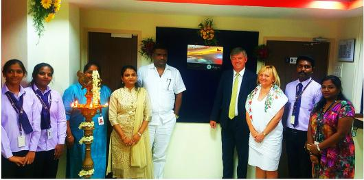 Visa Application Centre in Pondicherry opened | Embassy of