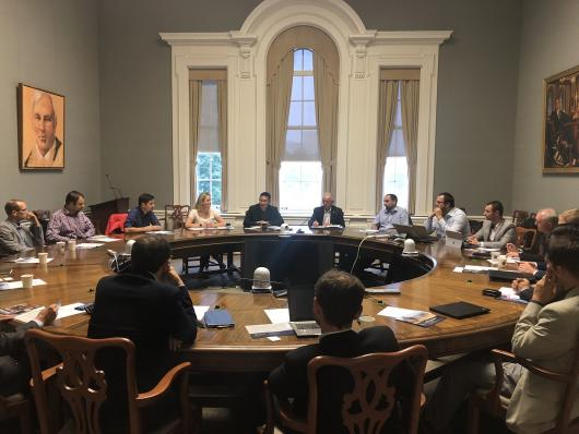 Česká delegace na jednání s University of Toronto