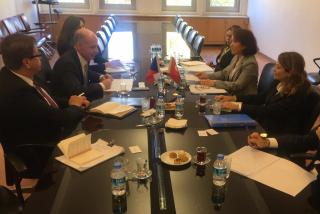 Political Consultations of Junior Deputy Foreign Minister Martin Košatka in Ankara